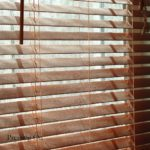 Wooden blinds with a difference